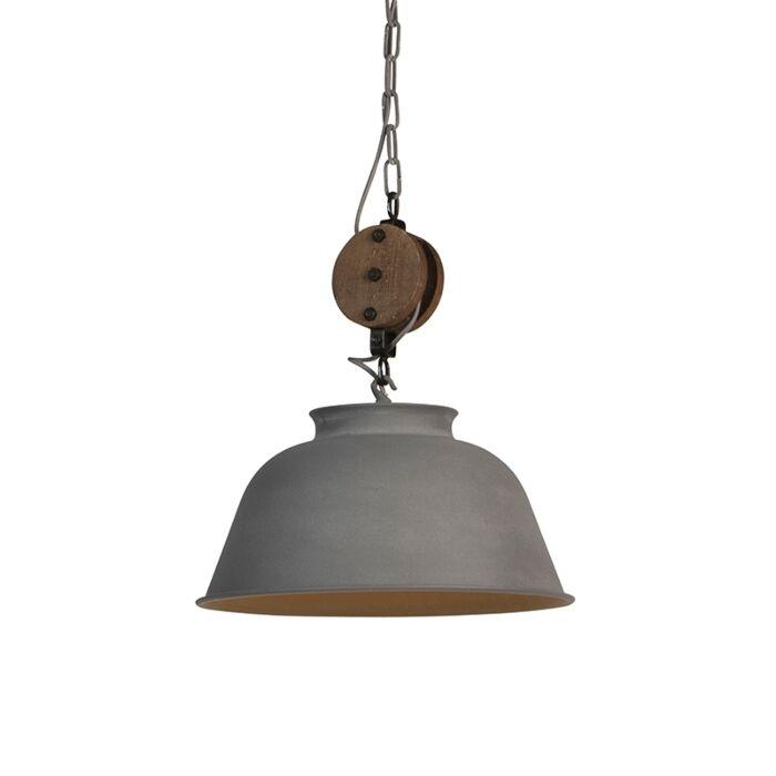 Lampada-a-sospensione-industriale-aspetto-cemento---BAX