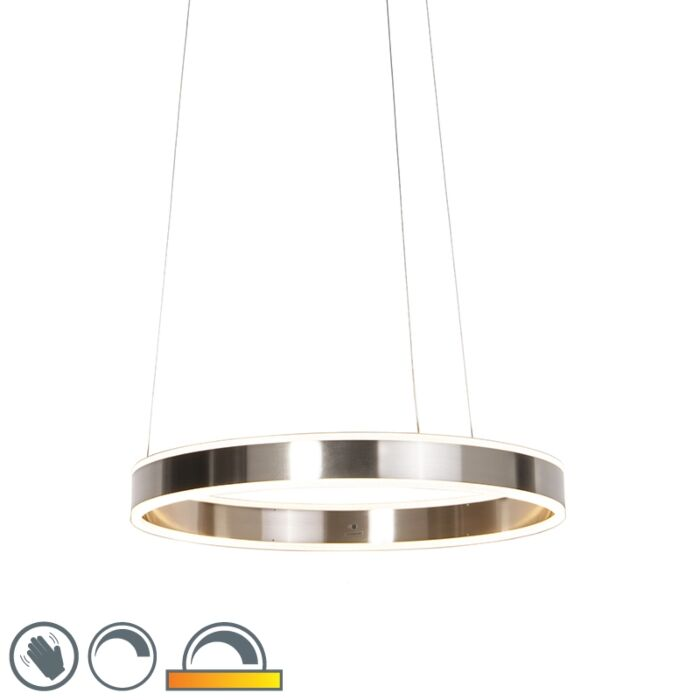 Lampada-a-sospensione-acciaio-LED-60-cm-dimm-kelvin---OLLIE