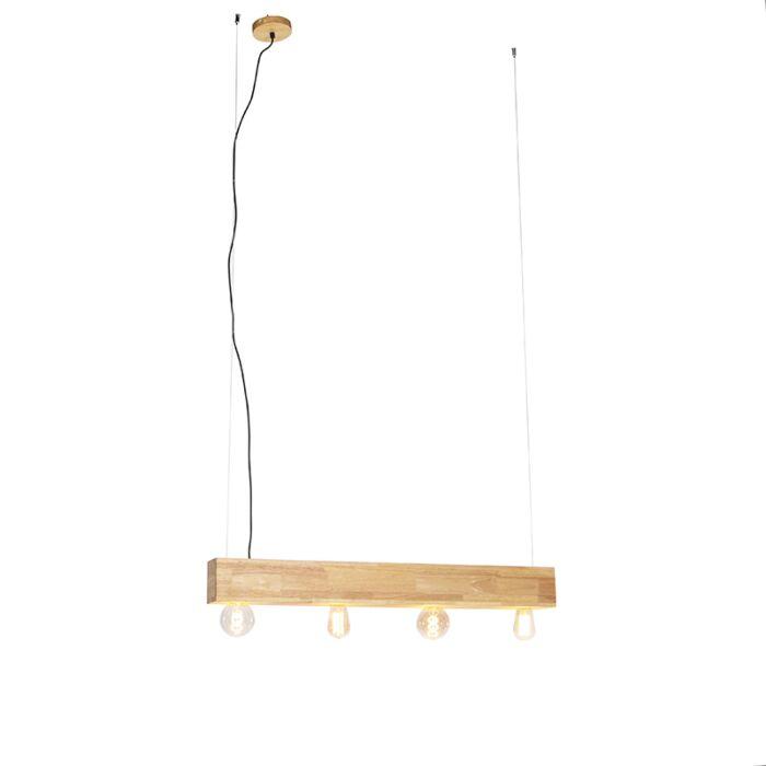 Lampada-a-sospensione-legno-4-luci---SEMA-