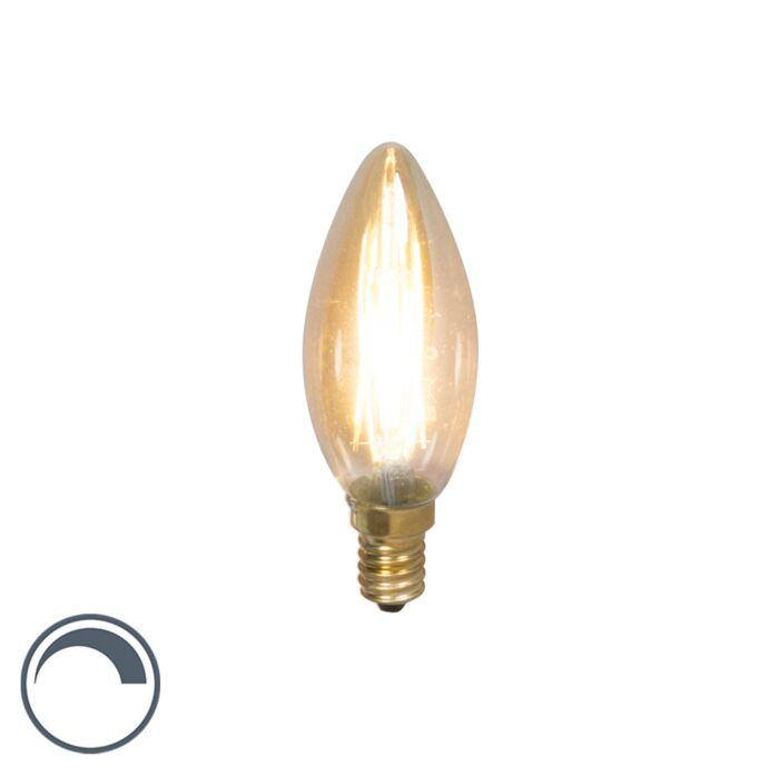 Candela-dimmerabile-a-filamento-LED-E14-3,5W-200lm-2100-K