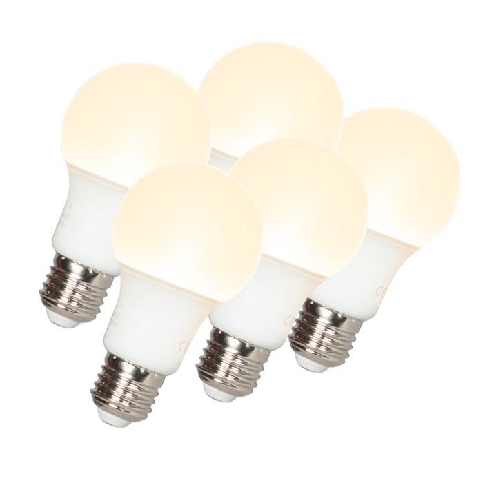 Confezione-5-lampadine-a-LED-E27-A60-9W-810LM