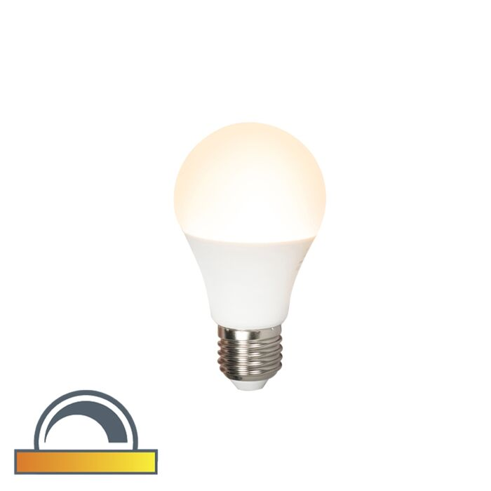 Lampada-a-LED-dimmerabile-E27-A60-7W-510lm-2000K---2700K