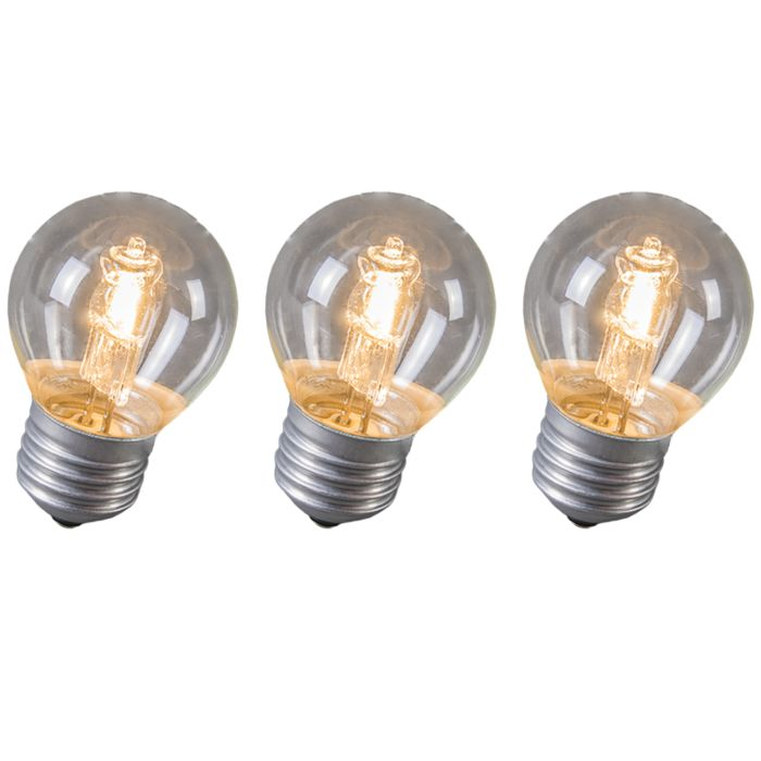 Confezione-3-lampadine-alogene-E27-28W