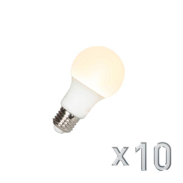 Confezione-10-lampadine-a-LED-E27-A60-9W-810LM