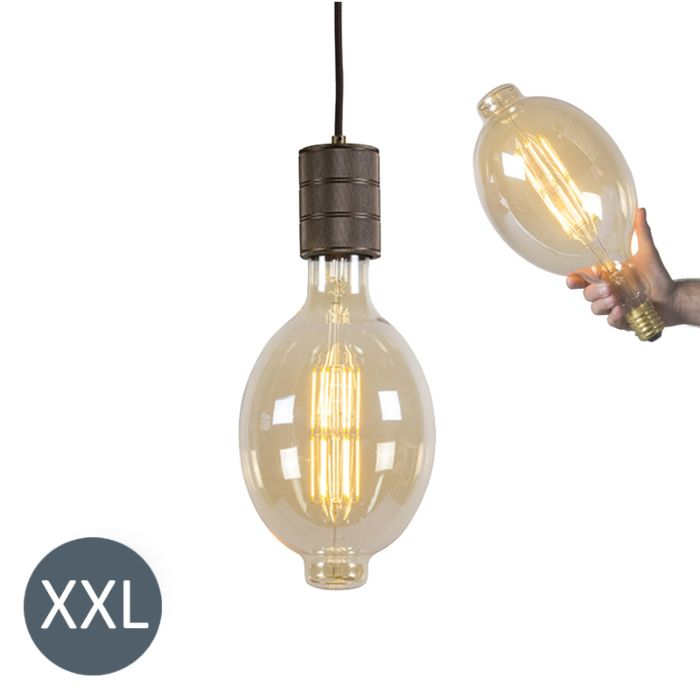 Lampada-a-sospensione-COLOSSEUM-con-lampadina-LED-regolabile