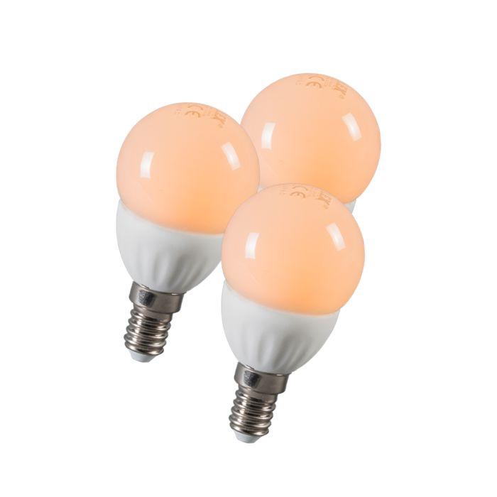 Set-di-3-lampadine-LED-E14-3W(=25W)-250LM
