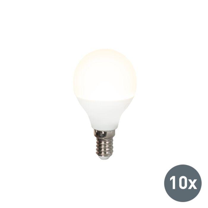 Confezione-10-lampadine-a-LED-E14-G45-5W-3000K