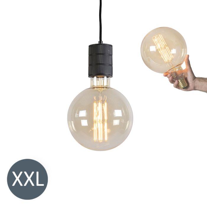 Lampada-a-sospensione-MEGAGLOBE-con-lampadina-LED-regolabile