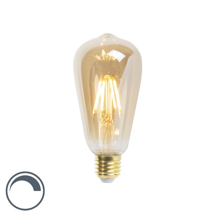 Lampada-a-filamento-LED-dimmerabile-E27-ST64-5W-360-lumen-2200K