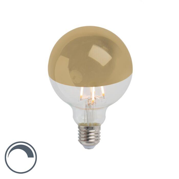 E27-specchio-dimmerabile-a-LED-a-filamento-testa-specchio-G95-oro-280lm-2300K