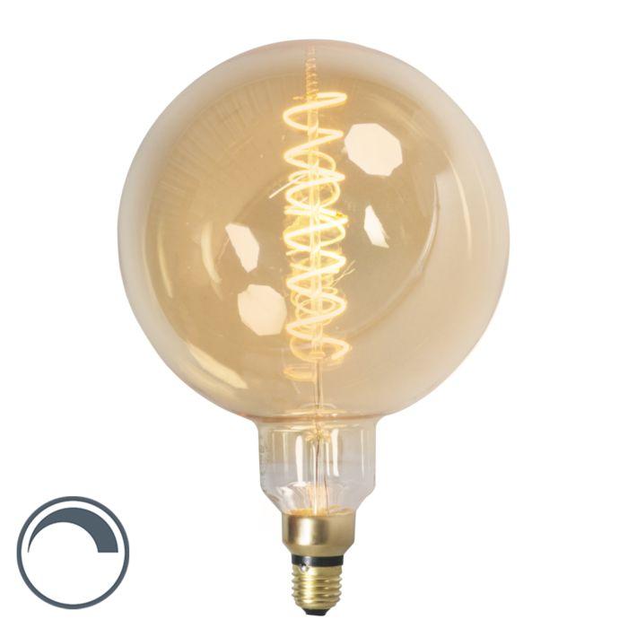 Lampada-a-filamento-LED-dimmerabile-E27-MEGA-globe-4W-200lm-2100-K