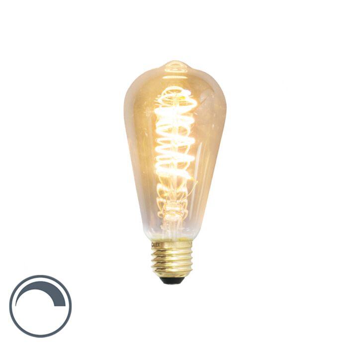 Lampada-a-filamento-LED-dimmerabile-E27-ST64-4W-200-lumen-2100K