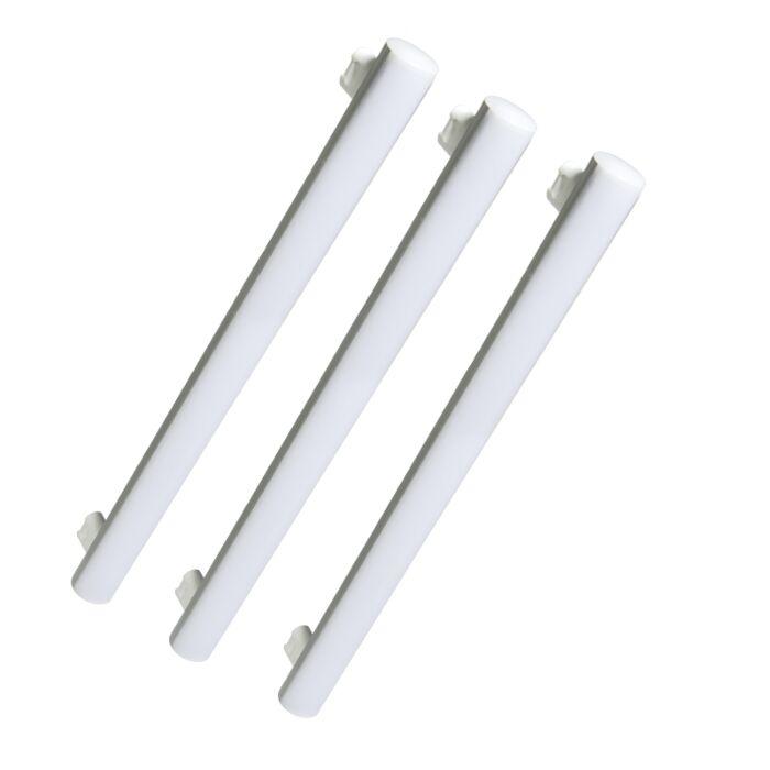 Set-di-3-tubi-a-LED-240V-7W-2700K-bianco-caldo