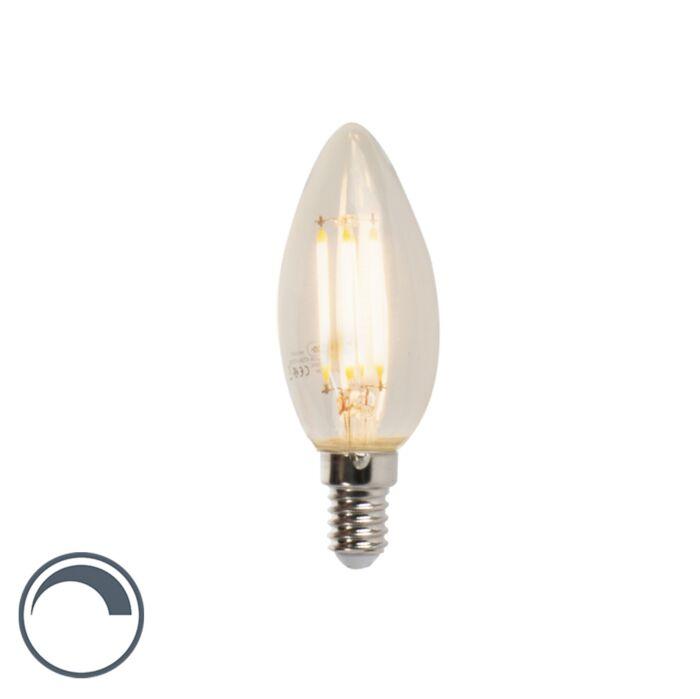 Candela-dimmerabile-a-filamento-LED-E14-B35-5W-470lm-2700K