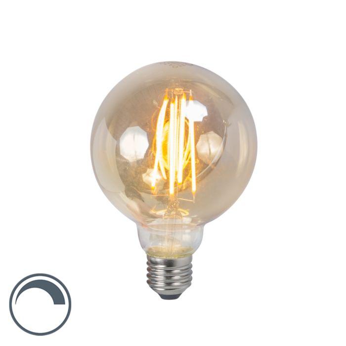 Lampada-a-filamento-LED-E27-5W-2200K-G95-dimmerabile-fumo