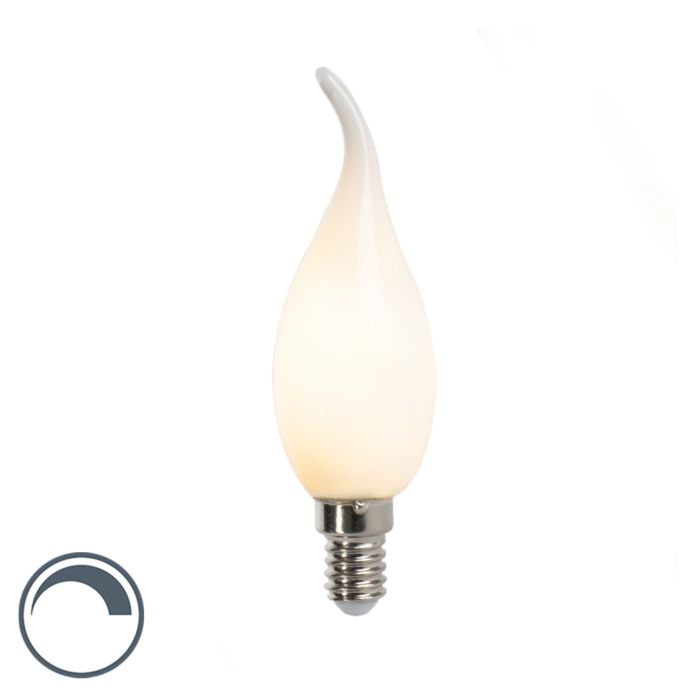 Lampadina-candela-LED-E14-3W-250lm-F35-dimmerabile-opaca