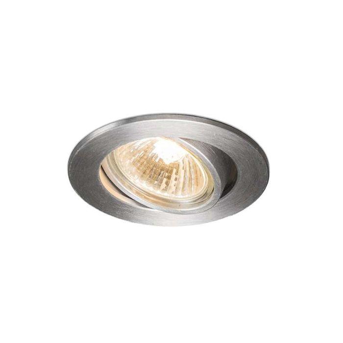 Faretto-da-incasso-'Cisco'-moderno-alluminio---adatto-per-LED-/-interno