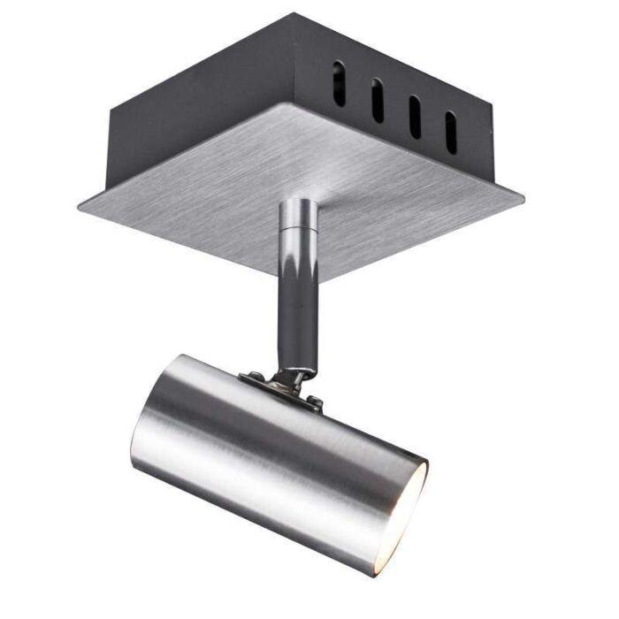 Faretto-'Oslo-1'-design-alluminio---adatto-per-LED-/-interno