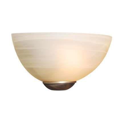 Applique-'Milano-25'-classico-crema/vetro---adatto-per-LED-/-interno