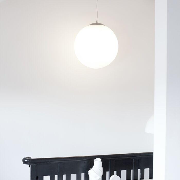 Lampada-a-sospensione-scandinava-in-vetro-traslucido-50cm---BALL-50