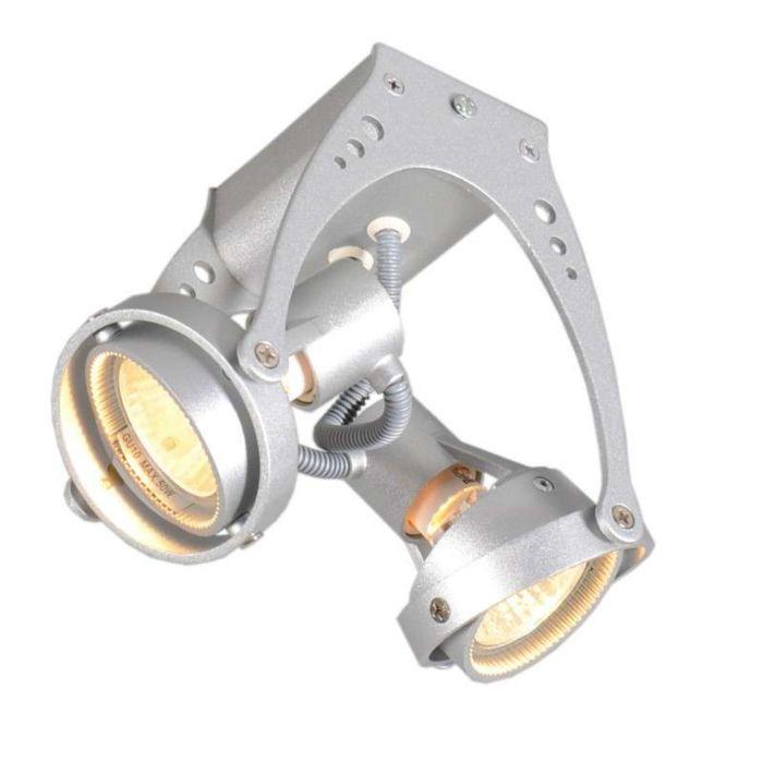 Faretto-'Dexi-2'-industriale-alluminio---adatto-per-LED-/-interno