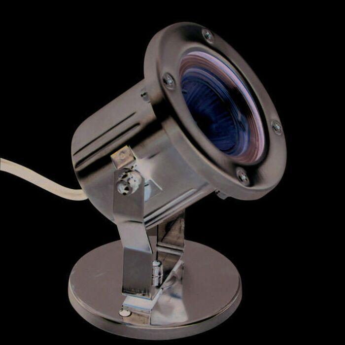 Illumizazione-sommergibile-'underwater-lamp'-classico-acciaio-inossidabile---adatta-per-LED-/-esterna
