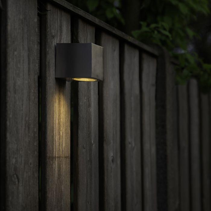 Lampada-da-parete-moderna-in-acciaio-IP44---Baleno-I