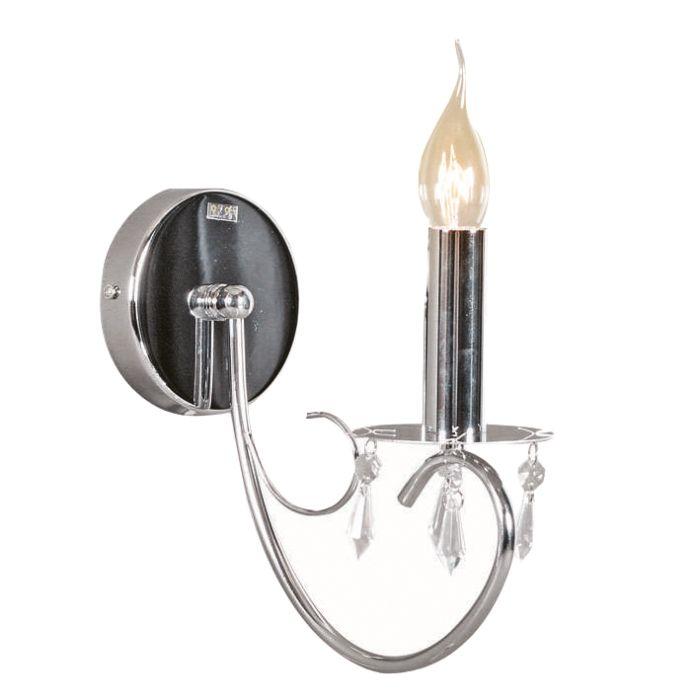 Applique-'Lecler-1'-classico-cromo---adatto-per-LED-/-interno