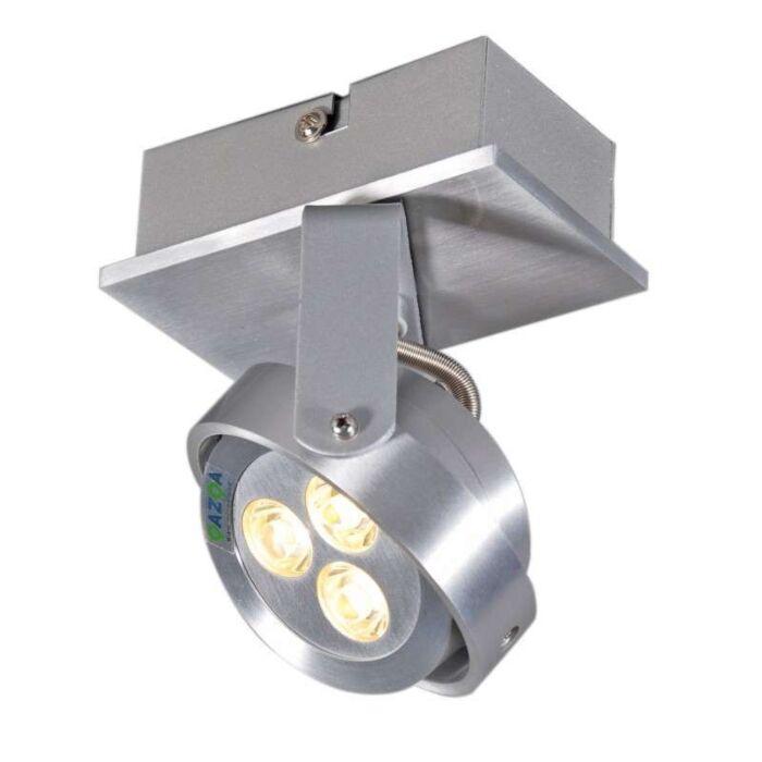 Faretto-'Keoni-1'-moderno-alluminio---include-LED-/-interno