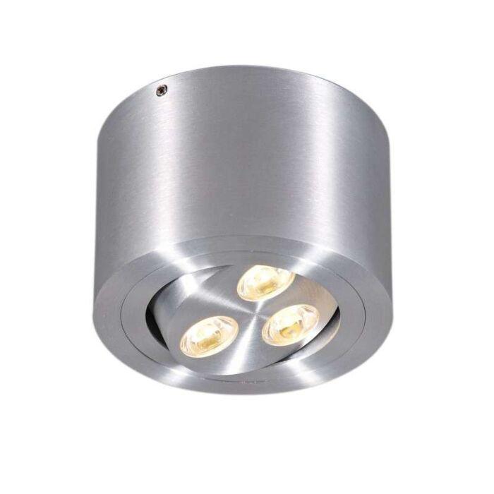 Faretto-'Keoni'-moderno-alluminio---include-LED-/-interno