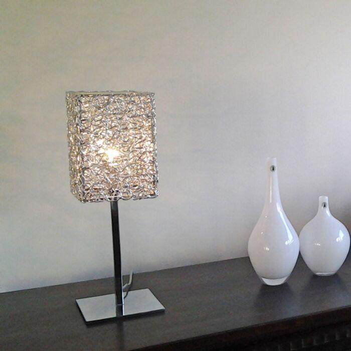 Lampada-da-tavolo-'Draht-Square-L'-moderna-alluminio---adatta-per-LED-/-interna