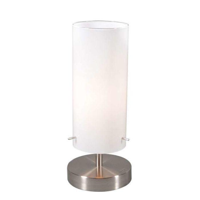 Lampada-da-tavolo-'Boy-1'-moderna-blanca/vetro---adatta-per-LED-/-interna
