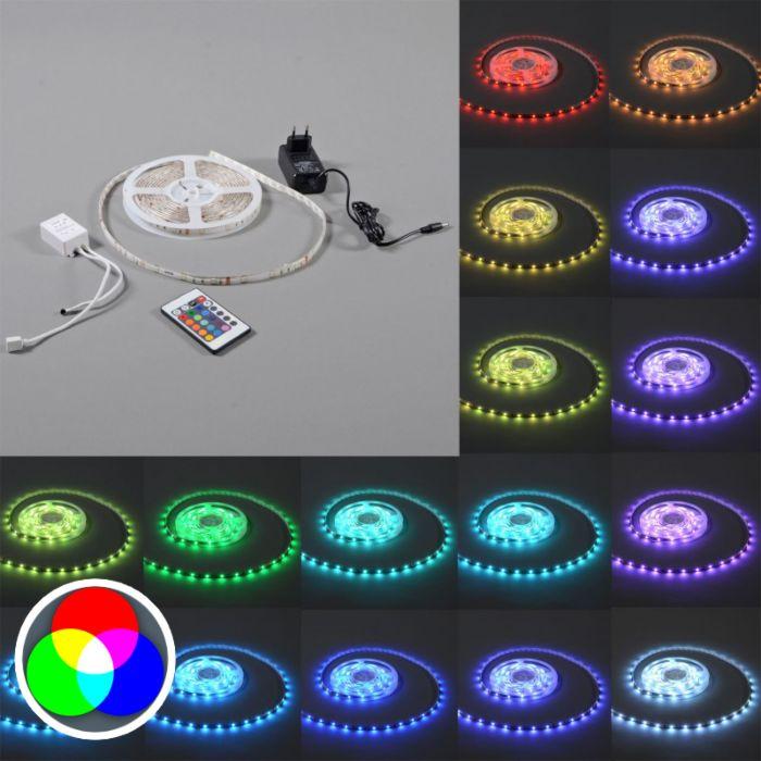 Flexible-Strip-RGB-LED-IP20-5mtr-Set