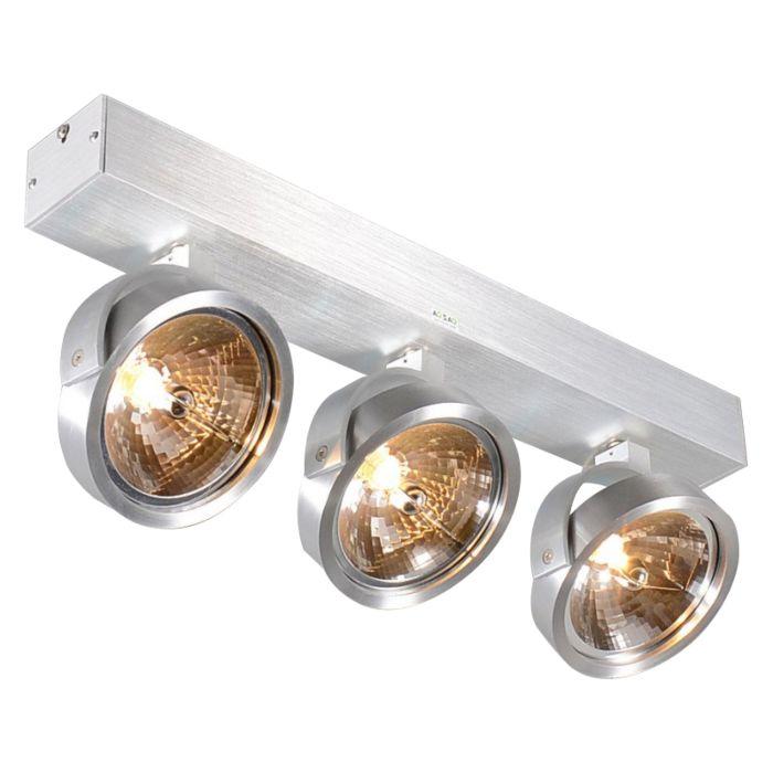 Design-spot-in-alluminio-orientabile-a-3-luci-incl.-Alogeno---Go