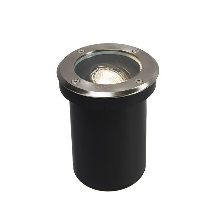 Moderno-spot-da-esterno-in-acciaio-inox-IP65---Delux