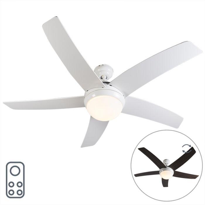 Ventilatore-da-soffitto-bianco-con-telecomando---Cool-52