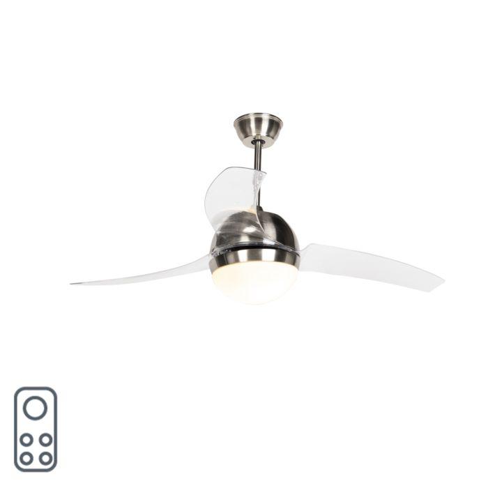 Ventilatore-da-soffitto-in-acciaio-con-telecomando---BORA-52