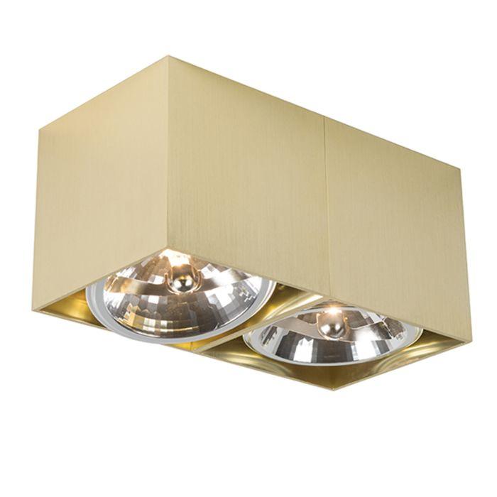 Faretto-BOX-2-dorato