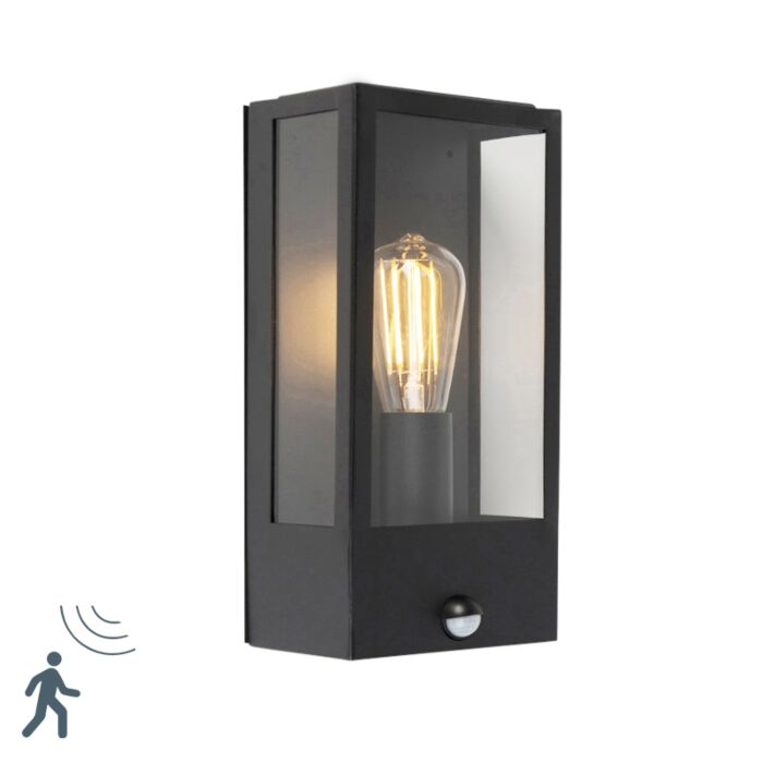 Applique-da-esterno-moderno-nero-con-sensore-movimento---ROTTERDAM-1