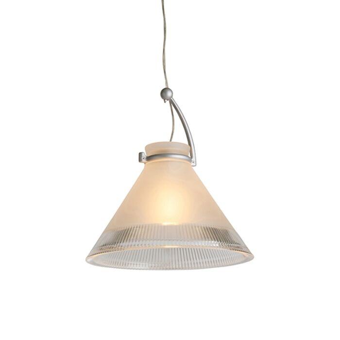 Lampada-a-sospensione-CHRIS-con-vetro-opaco-e-bordo-trasparente