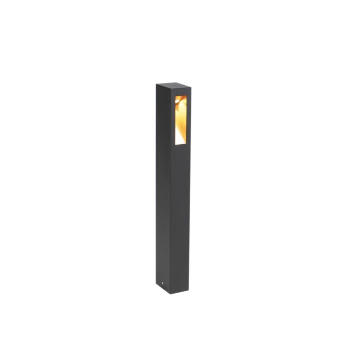 Lampada-da-esterno-moderna-in-piedi-nero-65-cm-incl.-LED---Intorus