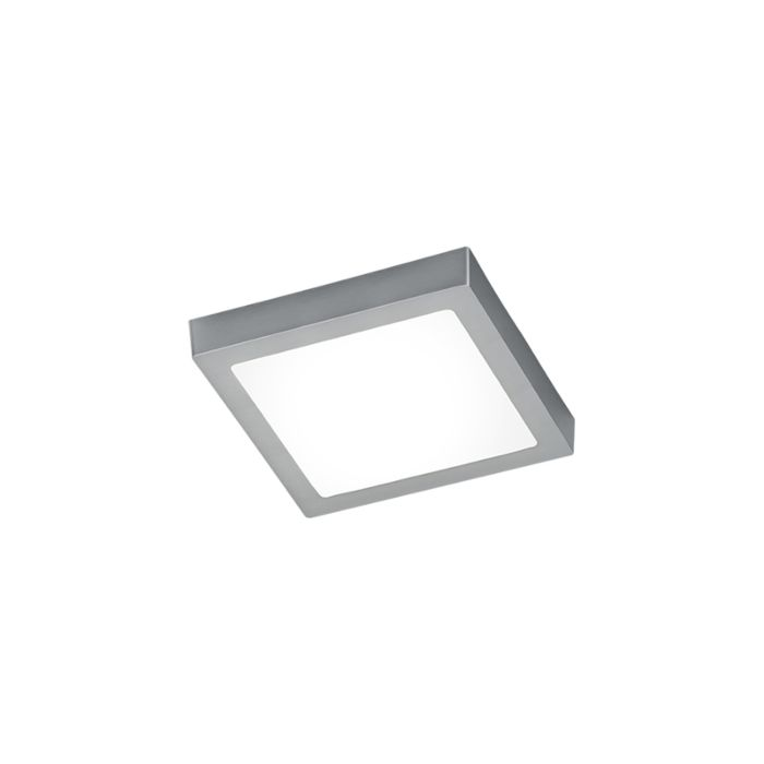 Plafoniera-moderna-quadrata-acciaio-con-vetro-incl.-LED---BOY