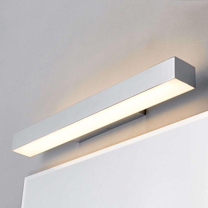 Lampada-da-bagno-moderna-cromata-60-cm-incl.-LED-IP44---Kiana