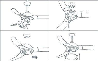 Passaggio 5. Inserire le lampadine e collegare il paralume