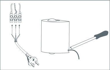 Passo 6: collegare una spina a una lampada da parete